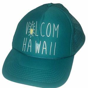 3/$15 Volcom Hawaii trucker hat snap back mesh